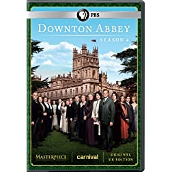 Masterpiece: Downton Abbey Season 4 DVD (U.K. Edition)