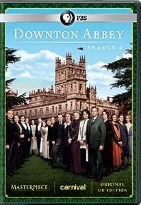 Downton Abbey Season 4 DVD (U.K. Edition)