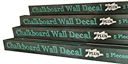 Chalkboard Wall Decal -- Large roll {6.5ft long x 1.5ft wide }+5 pieces of chalk