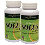 Solus Sleep and Relaxation Aid - 120 Capsules (2 x 60 Capsules)