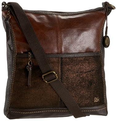The SAK Iris Cross Body Bag, Cayenne, One Size: Handbags