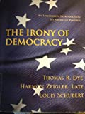 img - for The Irony of Democracy book / textbook / text book