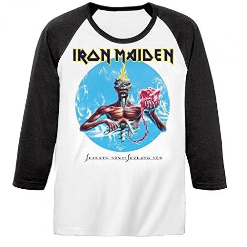 Iron Maiden-Maglietta a maniche lunghe, 7th Son nero 42