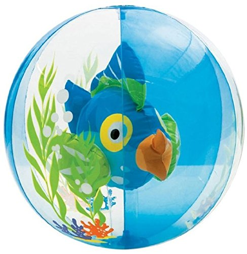 Intex Aquarium Transparent Beach Ball - Assorted Color - 2 Count