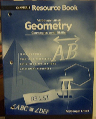 Geometry: Concepts and Skills: Resource Book Chapter 1