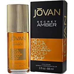 Jovan Secret Amber Cologne Spray 88ml