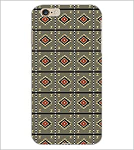 PrintDhaba Pattern D-5216 Back Case Cover for APPLE IPHONE 6S (Multi-Coloured)