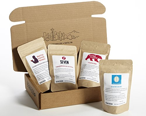 Bean Box Medium Roast Gourmet Coffee Sampler