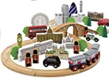 Generic Wooden Train Set London City Edition