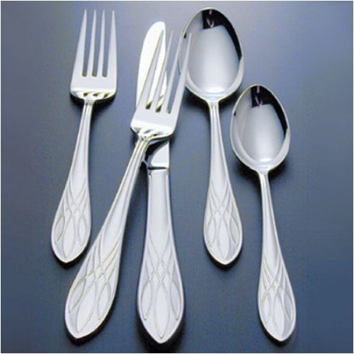 Buy WATERFORD FLATWARE LISMORE 0572 5 PIECE FLATWARE PLACE SETTINGS