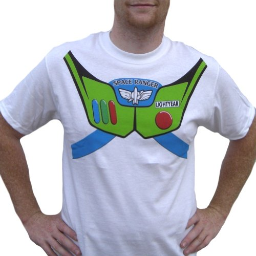 Buzz Lightyear T-Shirt Costume Toy Story 1 2 3