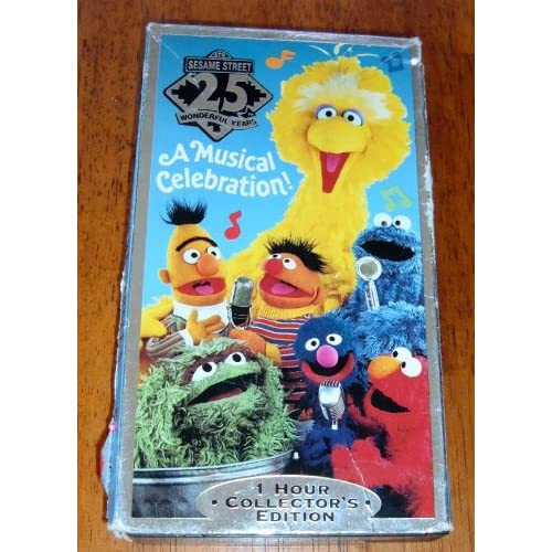 Sesame Street 25 wonderful Years Musical Celebration 1 Hour Collectors