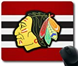 Head-Sweater Chicago Blackhawks Mousepad, Angelcase Store Custom Rectangular Mouse Pad at Amazon.com