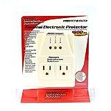 110 Voltage Protector Brownout Surge Refrigerator Dual Plug 1800 Watt Appliance