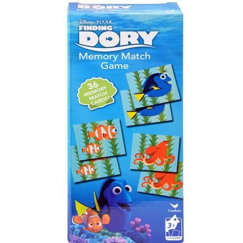 Disney Finding Dory Tower Memory Match Game (3 Pack)