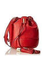 SEE BY CHLOÉ Bolso saco Vicki Small Bucket W Strap (Rojo)