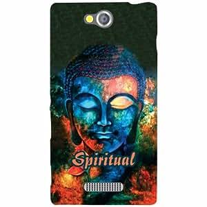 Sony Xperia C Back Cover - Spiritual Designer Cases