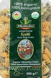 Amazon.com : Pasta Vgtbl Fusilli Tricolore (Pack of 12) : Grocery