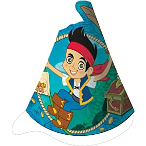 Jake and the Neverland Pirates Party Hats from Hallmark