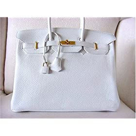 Hermes Birkin Bag, White