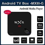 VIGICA Updated MXIII-G 3D 4K Android 5.1 TV Box 1G 8G Amlogic S812 Quad Core XBMC Preloaded Kodi 14.2 Full HD 1080P Wifi Dolby