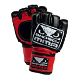 51%2Baph XX1L. SL160  Bad Boy Pro Style MMA Open Palm Glove (Black)