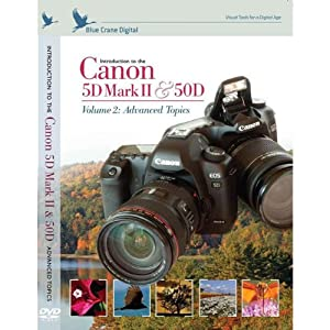 Introduction to the Canon 5D Mark II / 50D: Advanced Topics