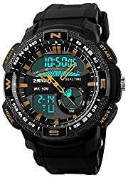 Skmei HMWA05S093C0 Analog-Digital Mens Watch