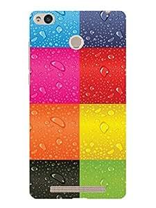 TREECASE Designer Printed Soft Silicone Back Case Cover For Xiaomi Redmi 3S Prime