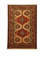Design Community By Loomier Alfombra Ozbeki Ghazni A (Marrón/Multicolor)