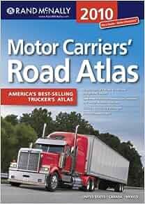 Rand Mcnally Motor Carrier Atlas Rand Mcnally Motor