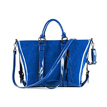 Girl Bag Portable Shoulder Bags Girls Cross Body Bolsas-blue: Clothing