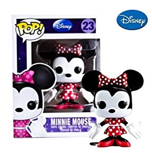 Amazon.com: FUNKO POP 10cm Mickey Mouse Pink red Minnie action figure