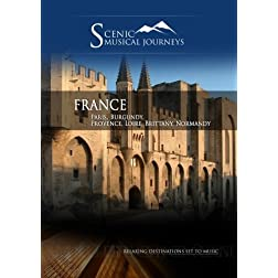 Naxos Scenic Musical Journeys France Paris, Burgundy, Provence, Loire, Brittany, Normandy