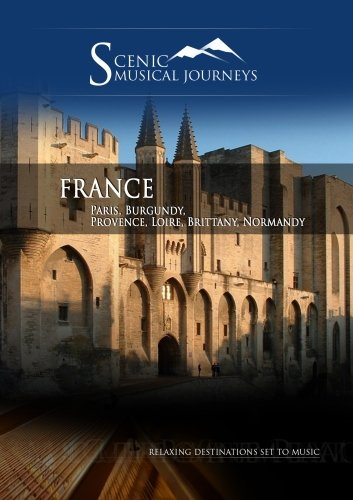Cover art for  Naxos Scenic Musical Journeys France Paris, Burgundy, Provence, Loire, Brittany, Normandy