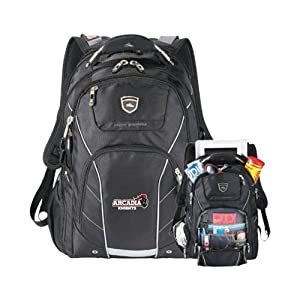 Buy Arcadia High Sierra Elite Fly By Compu Backpack 'Official Logo' by CollegeFanGear