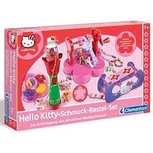 clementoni 69430 hello kitty kinder schmuck bastelset. Black Bedroom Furniture Sets. Home Design Ideas