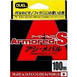 デュエル(DUEL) ライン ARMORED アジ・メバル 100M 0.4号 MP