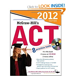 McGraw-Hill's ACT with -ROM,    by Steven Dulan