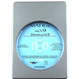 Mahler: Symphony N. 9 - 7.1 DTS-HD 3D Sound Blu-ray Audio Signature Series