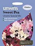 Unwins Pictorial Packet - Sweet Pea Unwins Special Mix - 35 Seeds