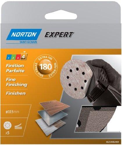 norton-expert-pex-disks-with-8-holes-self-adhesive-diameter-115-mm-180-grit-set-of-5