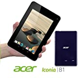 Acer Iconia B1-710 1GB RAM 16GB Internal Storage Dual Core 1.2Ghz Processor 7-inch multi-touch display (1024 x 600) Webcam WiFi Bluetooth 4.0 Micro USB 2.0 Android 4.1 Jelly Bean (Oceanic Blue)