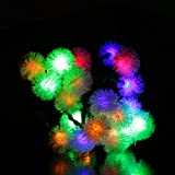 EiioX 4.8M 20 led Muti color Chuzzle Solar Fairy String Lights For Outdoor, Gardens, Homes, Christmas party, New Year Decoration, etc