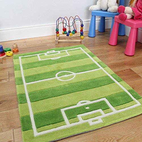 Tappeto per ragazzi campo da calcio sportivo da gioco con - Tappeti camera da letto amazon ...