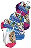 Disney Frozen Anklets Socks 6-8 1/2 on Header Card