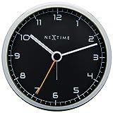 NeXtime Company Alarm Clock, Black