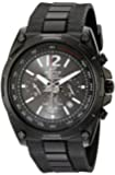 Edifice Men's Quartz Watch with Black Dial Analogue Display and Black Resin Strap EFR-545SBPB-1BVER