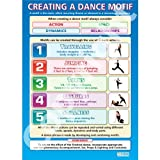 Creating a Dance Motif Dance Educational Wall ChartPoster in laminated paper A1 850mm x 594mm