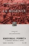 Image of La Regenta (Coleccion Sepan Cuantos # 225) (Spanish Edition)
